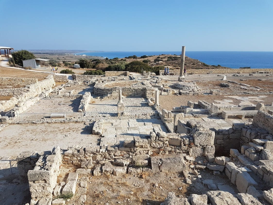 Ancient Kourion in Cyprus