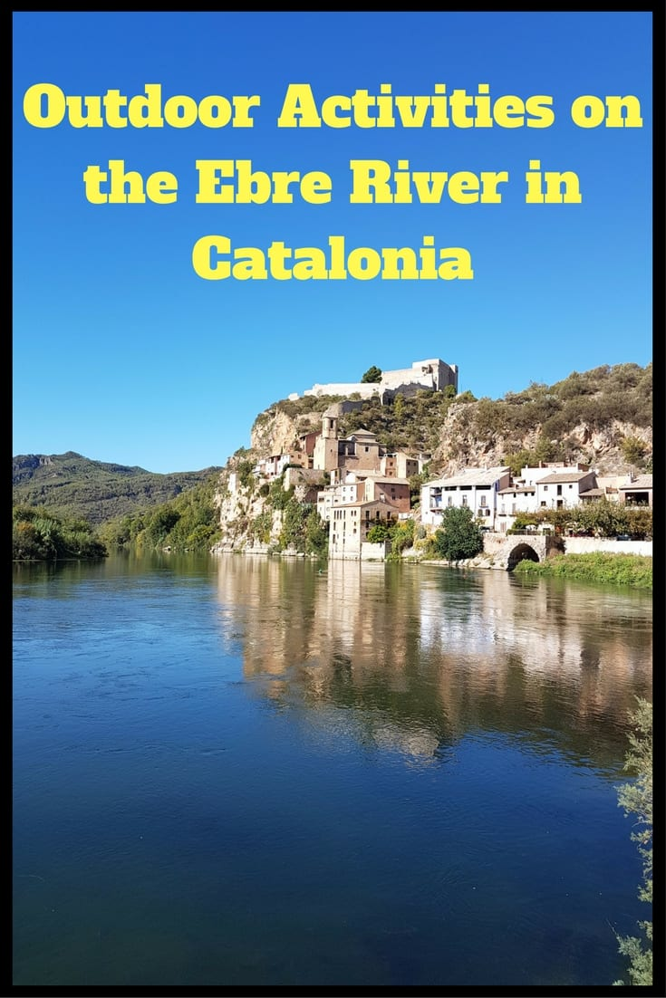 Outdoor activities on the Ebre River