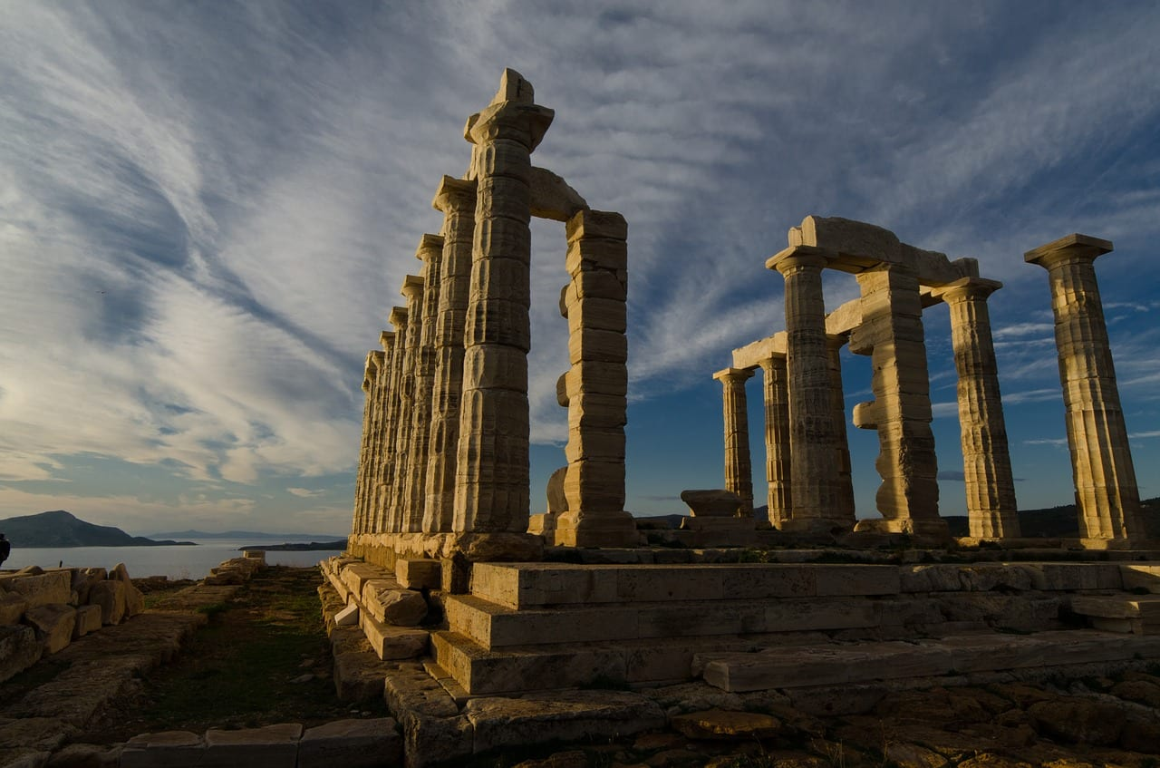 A half day trip to Cape Sounion and the Temple of Poseidon from Athens