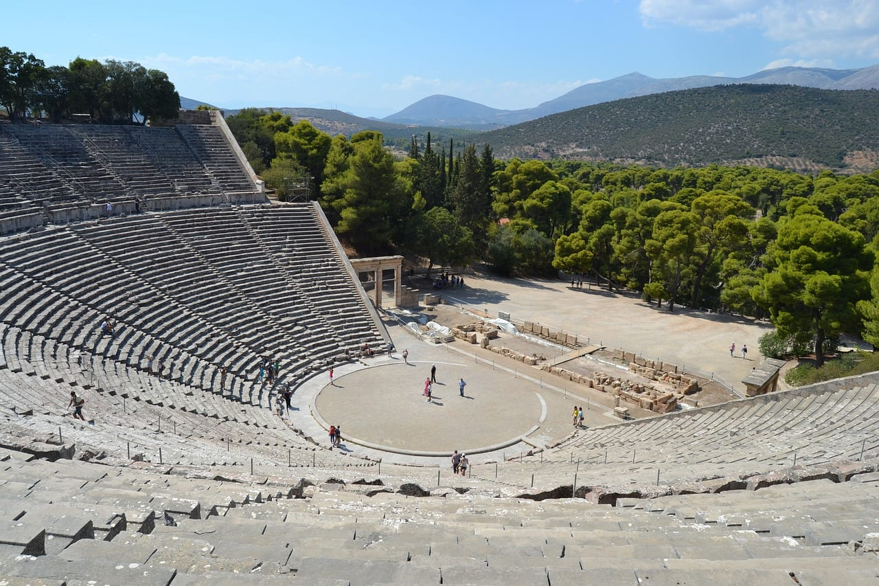 Epidaurus - A popular day trip from Athens, Greece