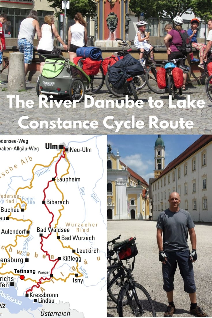 The River Danube to Lake Constance Cycle Route