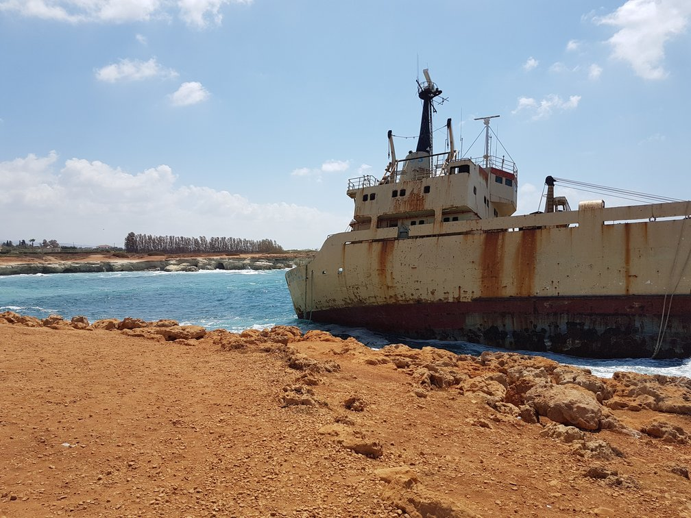 Visit a shipwreck- things to do in Paphos