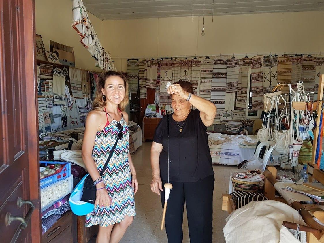 Weaving museum in Fyti, Cyprus