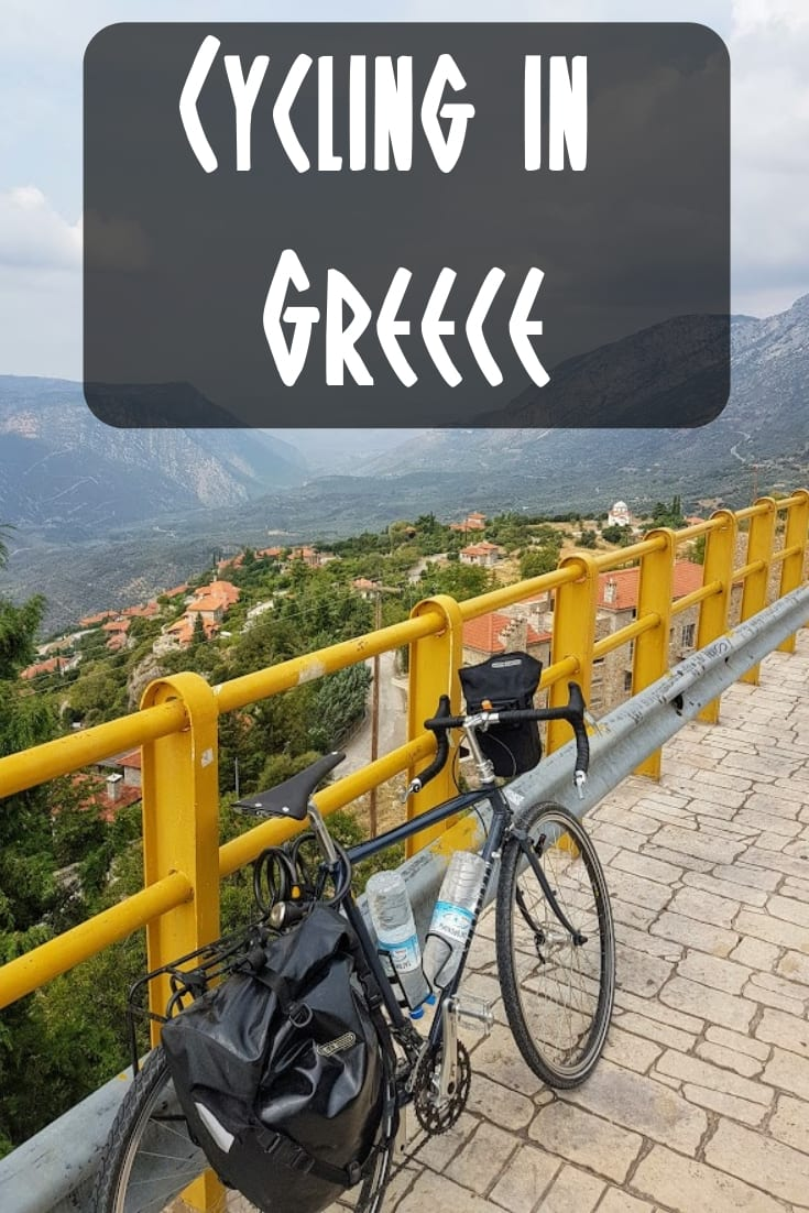 Cycling in Greece - A one week bike tour in Greece.