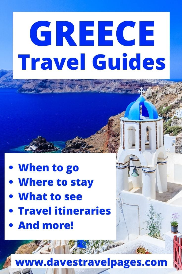 Free travel guides to Greece