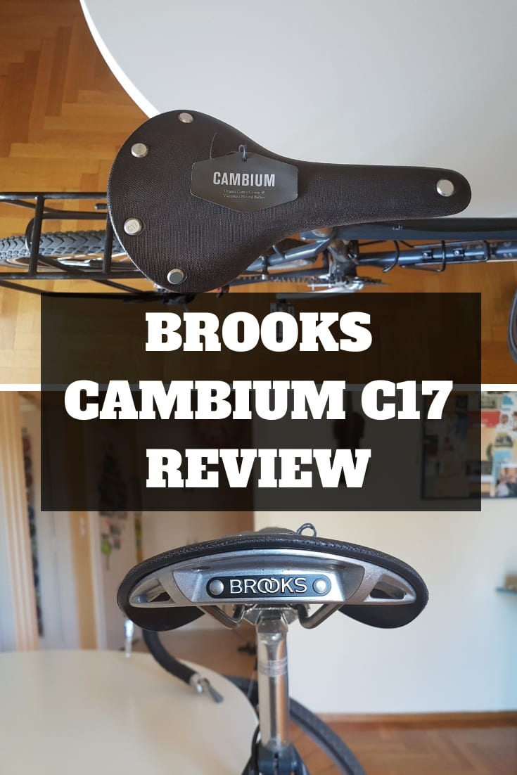 My Brooks Cambium c17 Saddle review - Is the Cambium saddle good for bike touring?