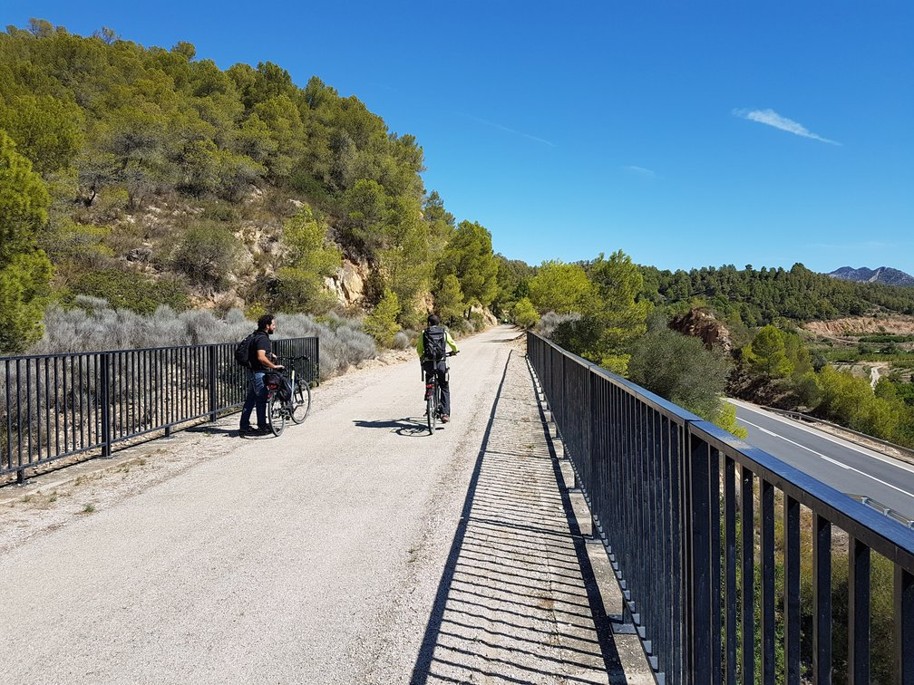 Cycling the Greenway in Catalonia