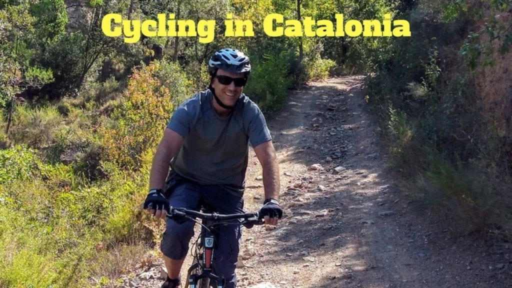 Cycling in Catalonia in Spain