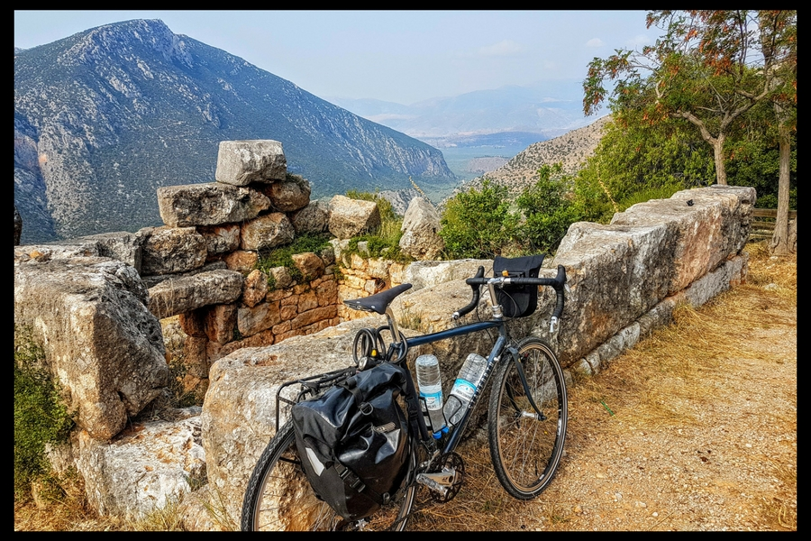 I used the Brooks C17 saddle when cycling in Greece