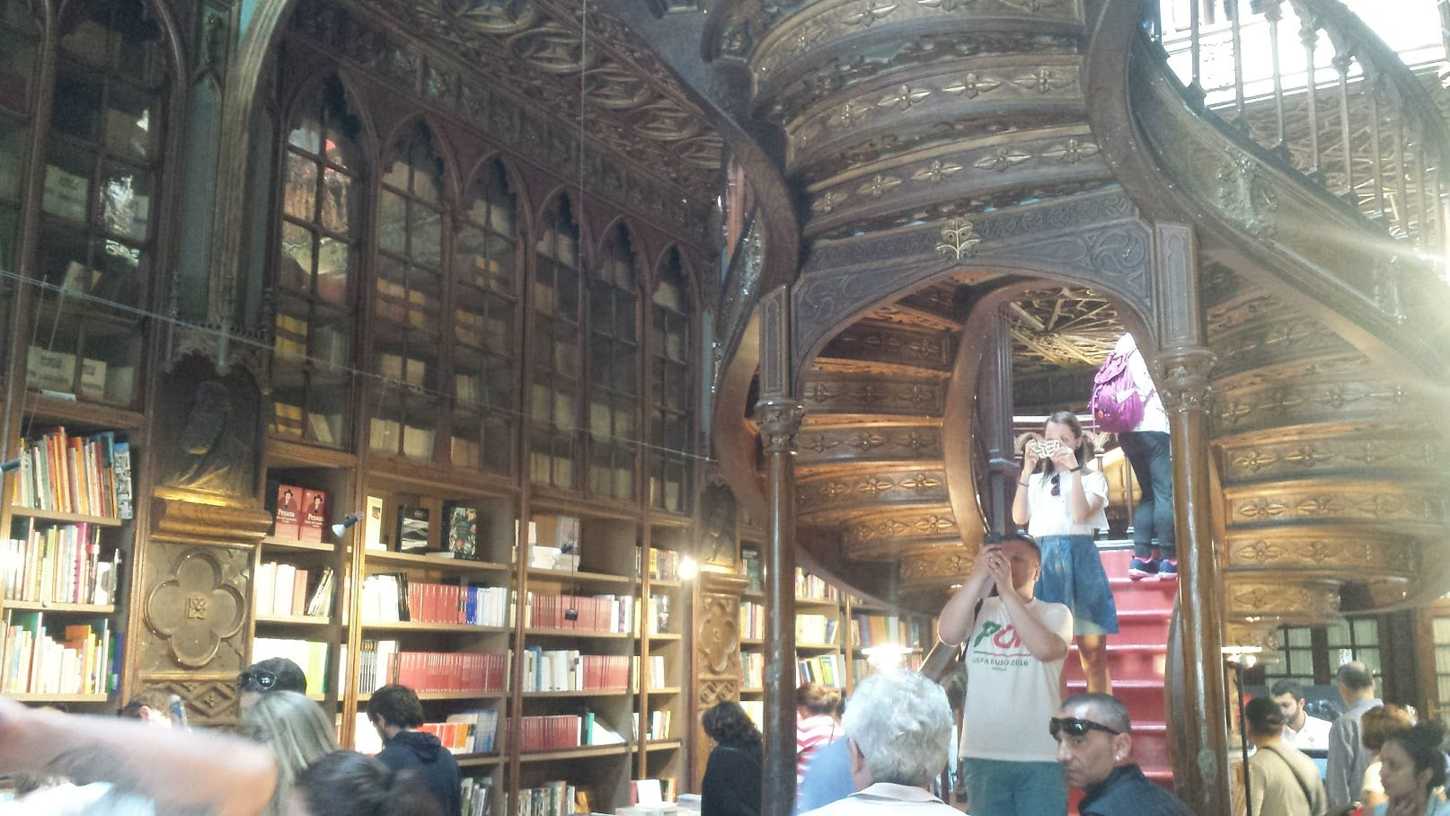 You have to go to the Harry Potter bookstore in Porto if visiting for a day!