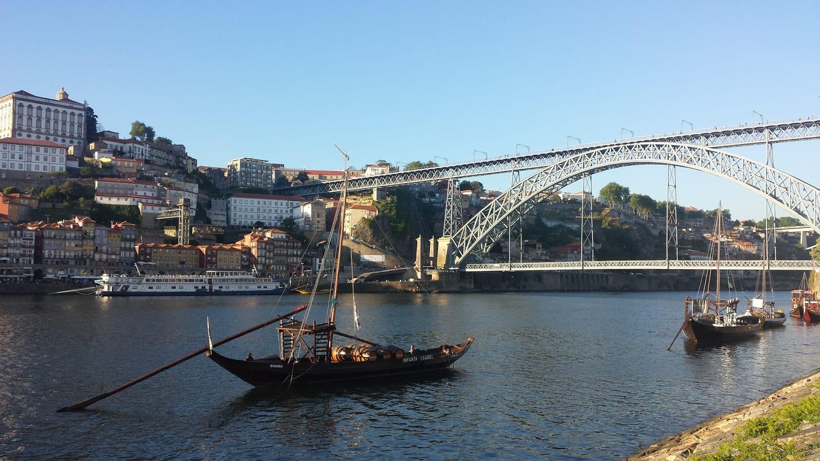 River walk in Porto