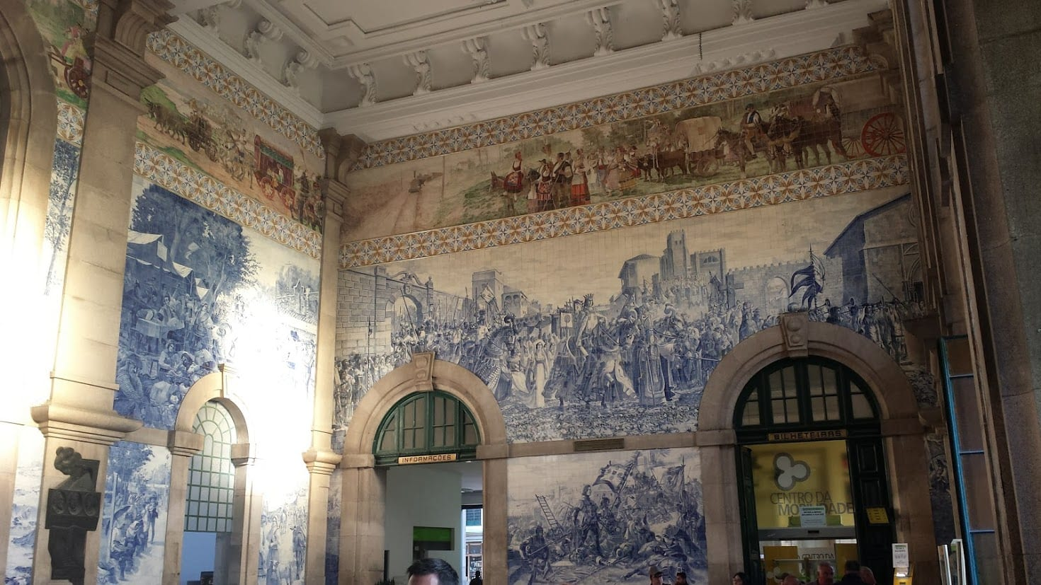 The Sao Bento Station in Porto