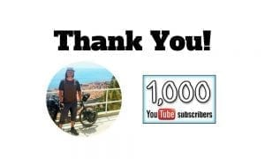 My Best Bike Touring Videos | 1000 Subscribers on YouTube Thank You!