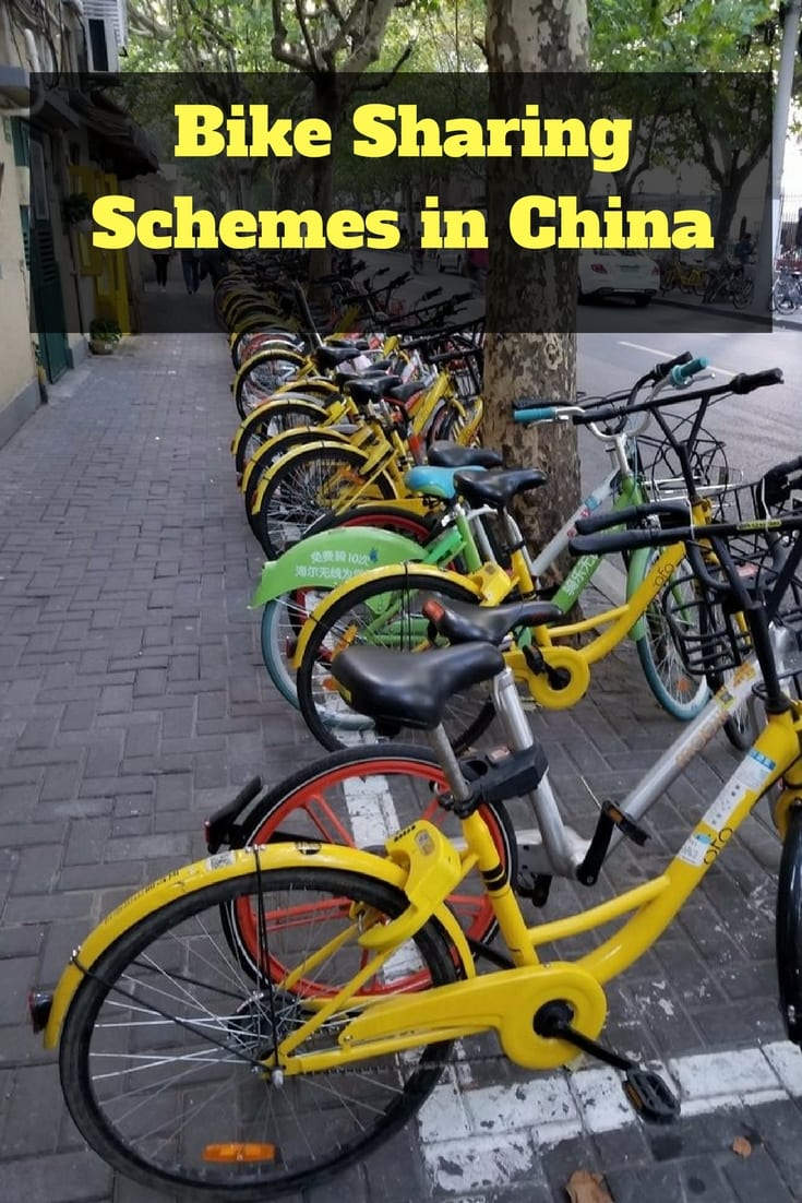 A look at the bike sharing schemes in China