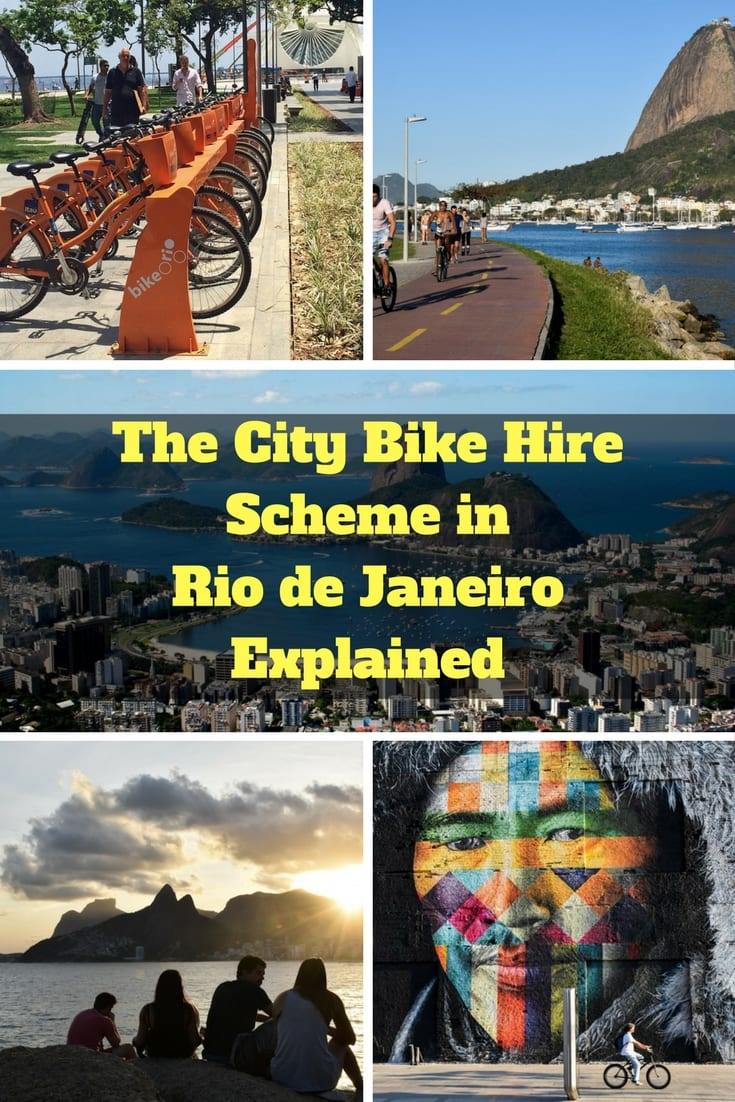 The City Bike Hire Scheme in Rio - The Bike Rio System Explained
