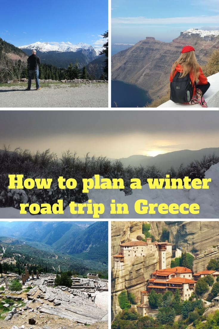 How to plan a winter road trip in Greece - Travel tips and advice