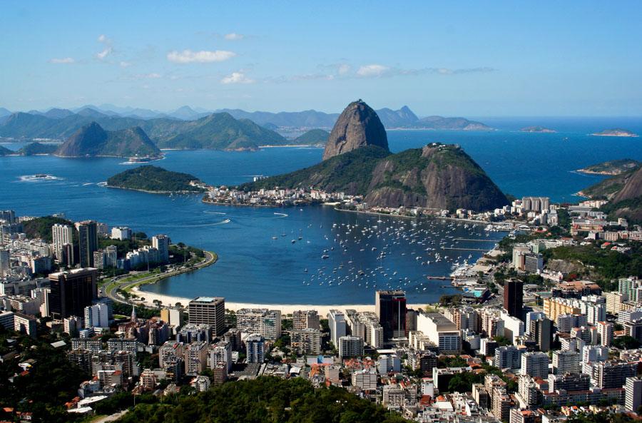 Christo view in Rio