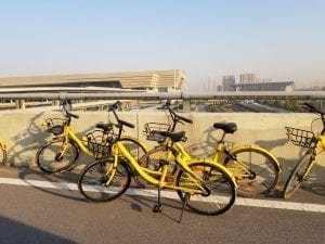 City Bike Sharing Schemes in China – Dock-less bike systems in Urban China