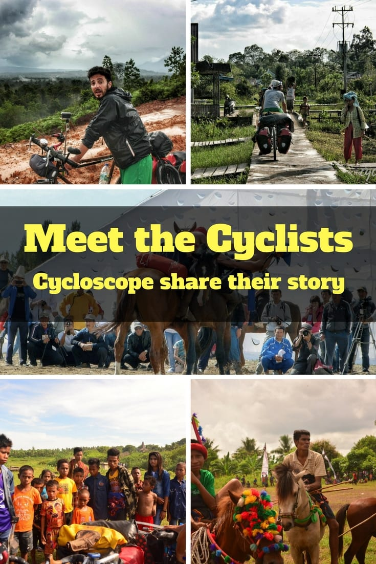 Meet the Cyclists - An interview with around the world cyclists from the Cycloscope travel blog