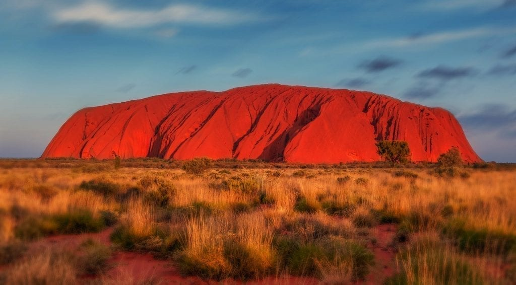 Driving around Australia, I reached the Red Centre and Uluru