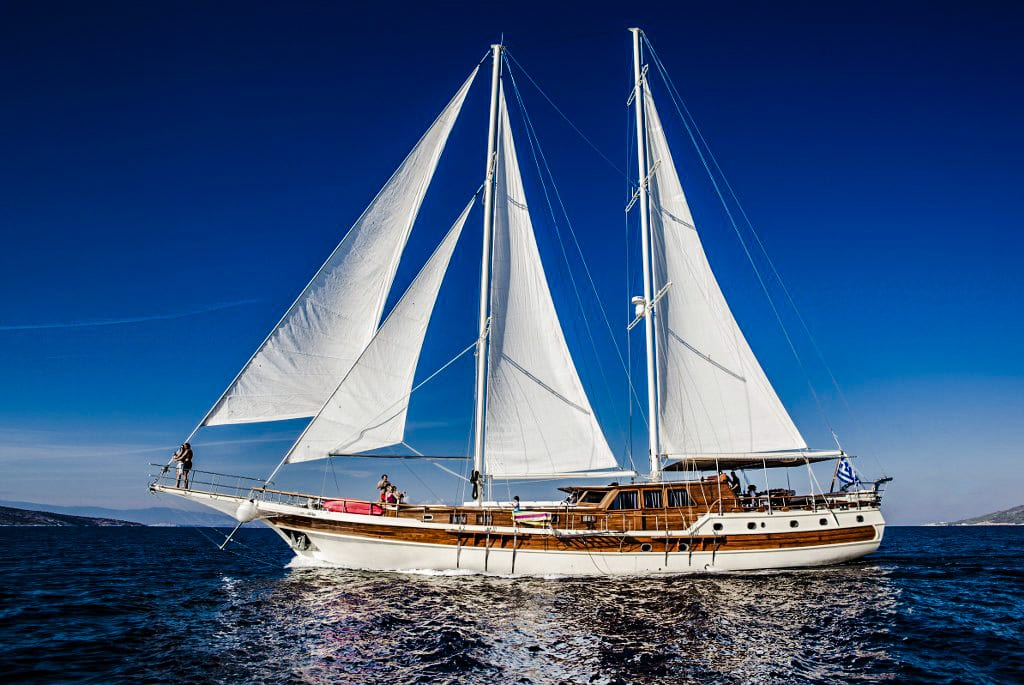 Gullet cruises Greece