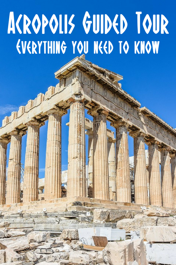 Acropolis guided tour information - everything you need to know about taking a tour of the Acropolis in Athens, Greece.