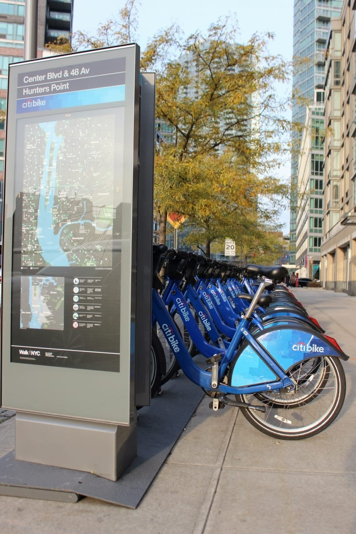 Citi Bike in NYC - City Bike Sharing Scheme NYC