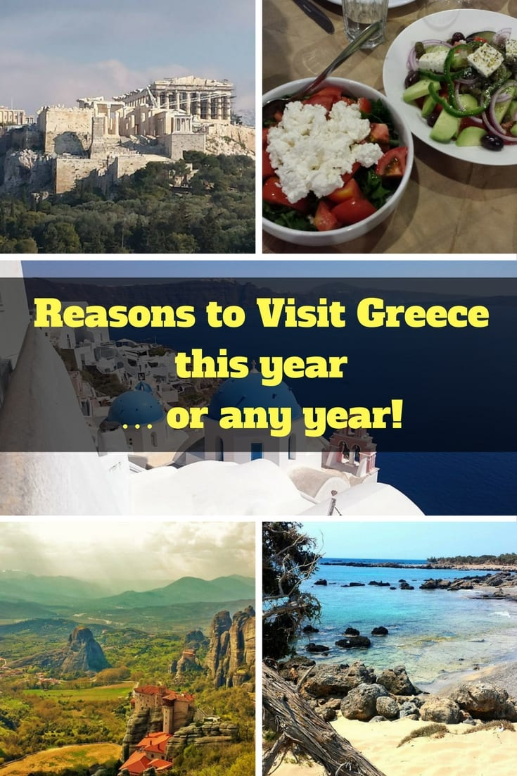 Reasons to Visit Greece this year … or any year!