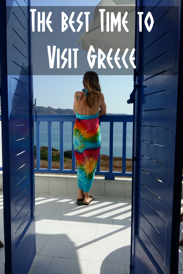 Avoid late July and August and find out the best time to visit Greece.