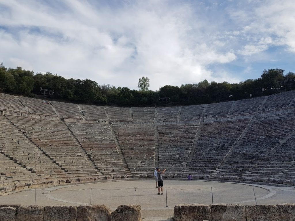 The Theatre at Epidaurus