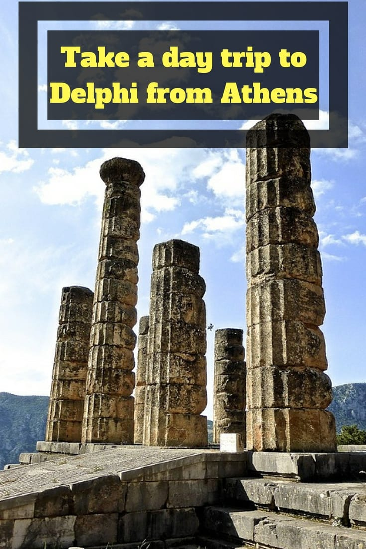 Take a day trip to Delphi from Athens when you visit Greece!