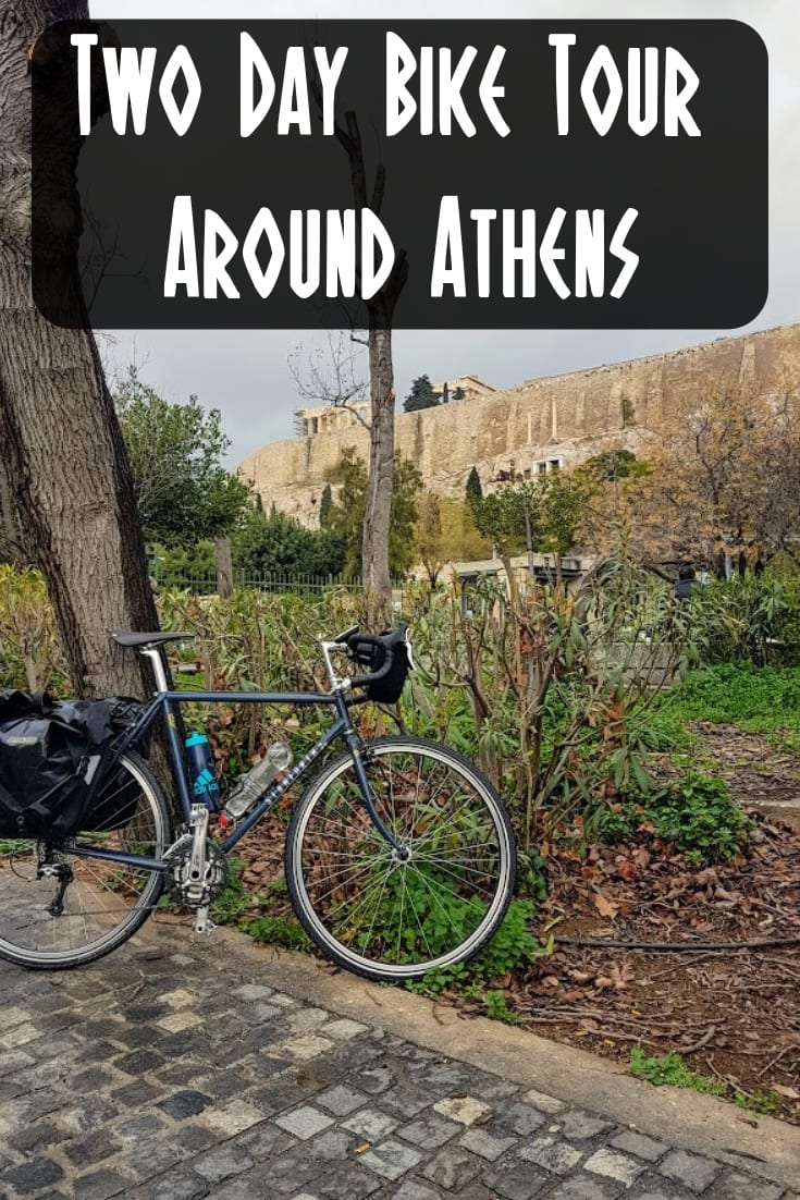 Bike Tours: A two day bike tour around Athens, Greece. A ride around the historic centre of Athens, and then on to the Temple of Poseidon at Cape Sounion.
