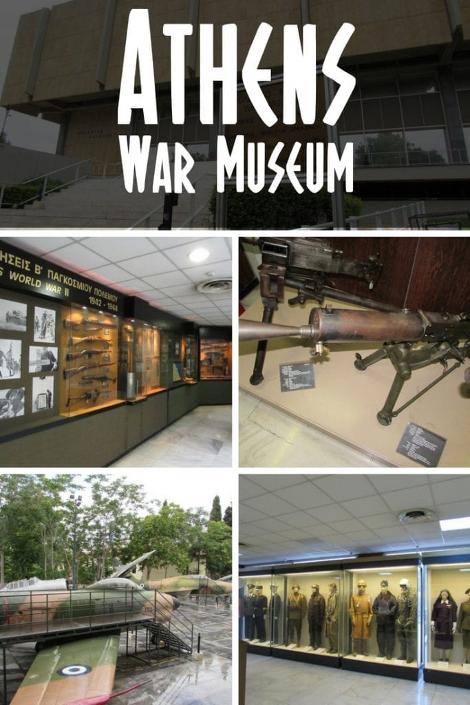 Athens War Museum opening hours and visitor information