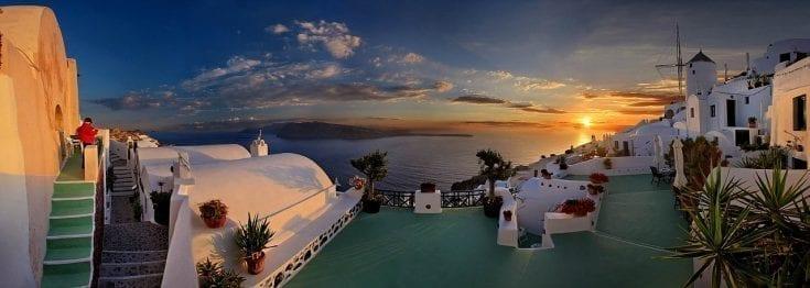 Santorini Sunset Hotels