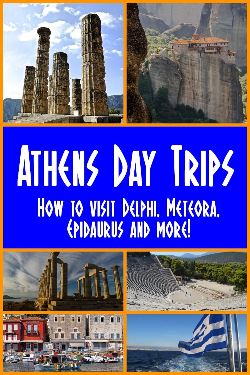 Athens Day Trips: Best Day Trips from Athens, Greece. A look at the best day tours from Athens, Greece. Includes popular day trips from Athens to Delphi, Temple of Poseidon, Mycenae, Meteora and more.
