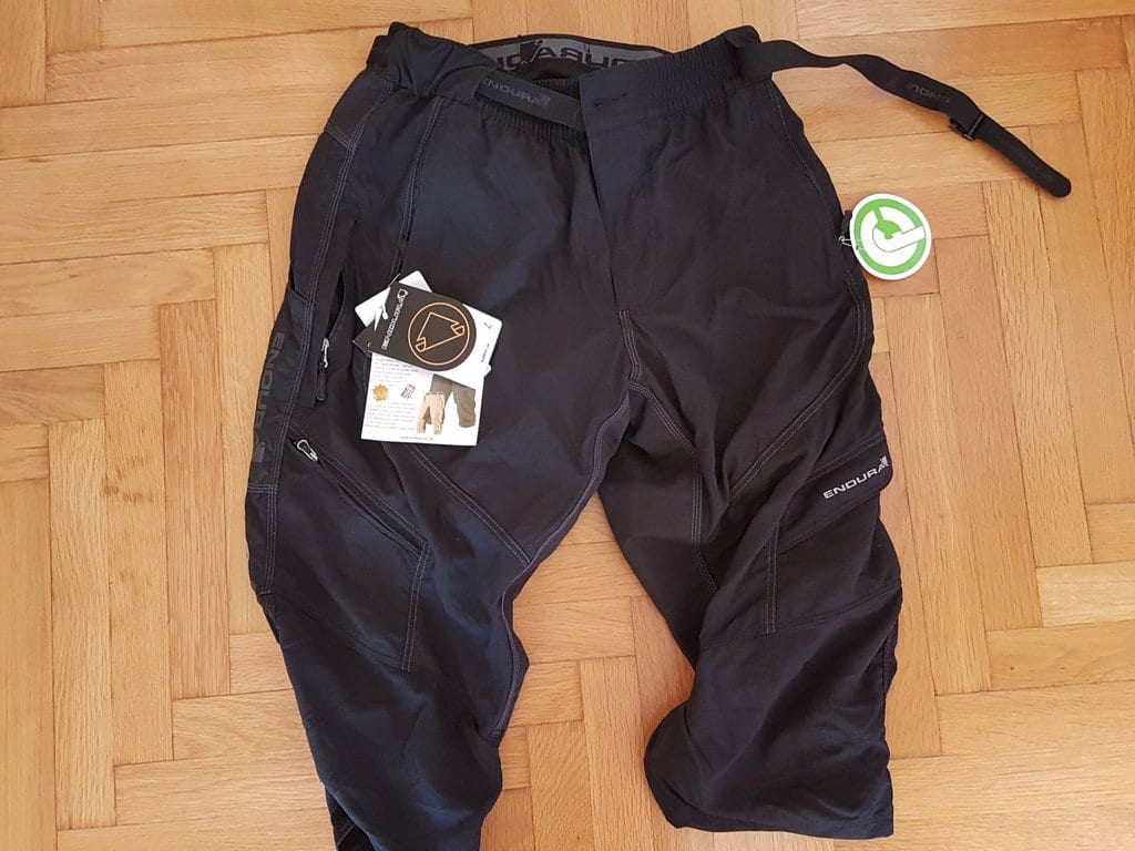 I wear Endura Humvee 3/4 shorts on my cycle tours