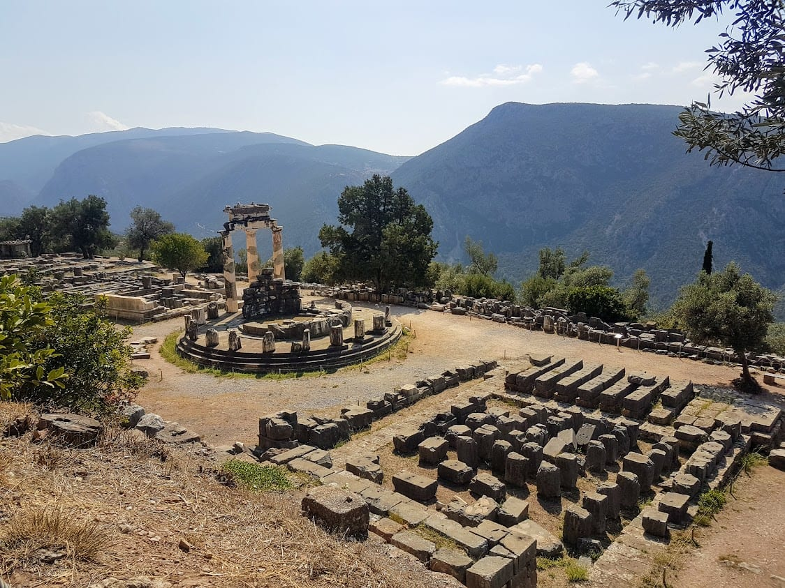 Delphi is one of the best day trips from Athens you can take when on vacation in Greece