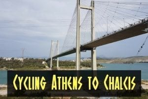 Cycling from Athens to Chalcis and back