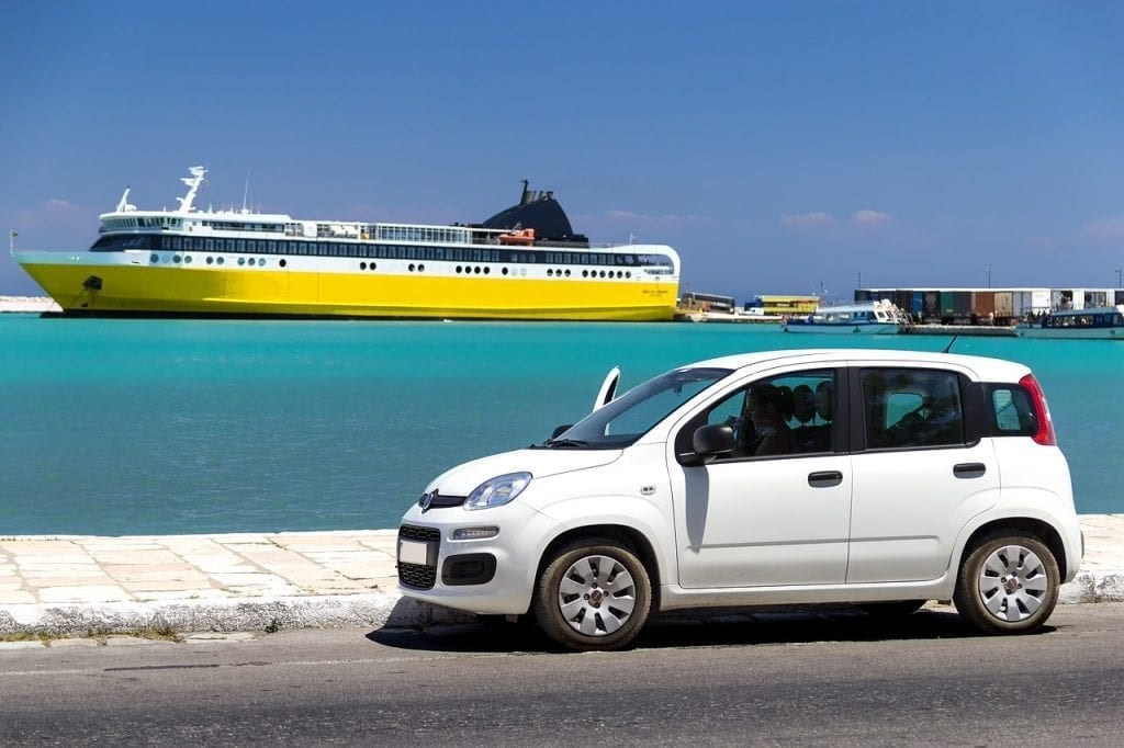 Car rental in Greece is very easy and a great way to see the country