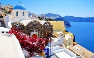 The Best Time To Visit Santorini – Dave's Travel Pages Greek Island Guide