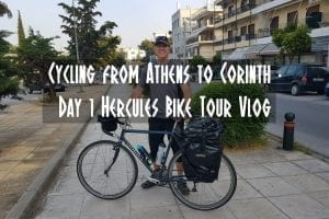 Cycling from Athens to Corinth - Hercules Bike Tour Day 1