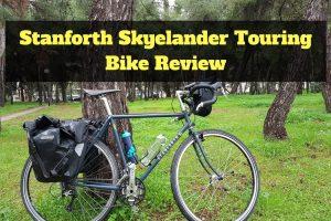 Stanforth Skyelander steel frame touring bike review