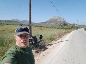 Cycling from Corinth to Nafplion