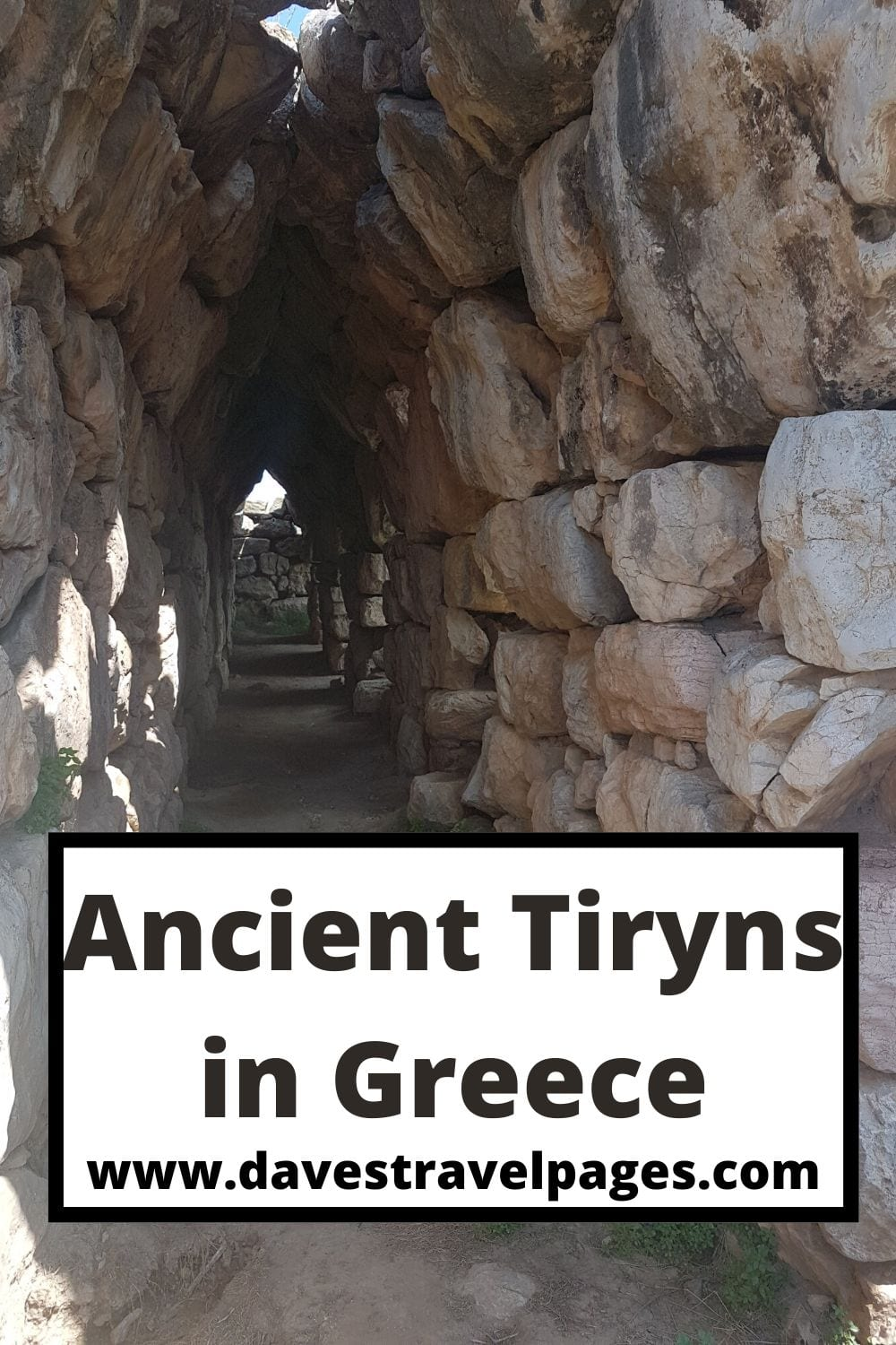 Visiting Ancient Tiryns in Greece
