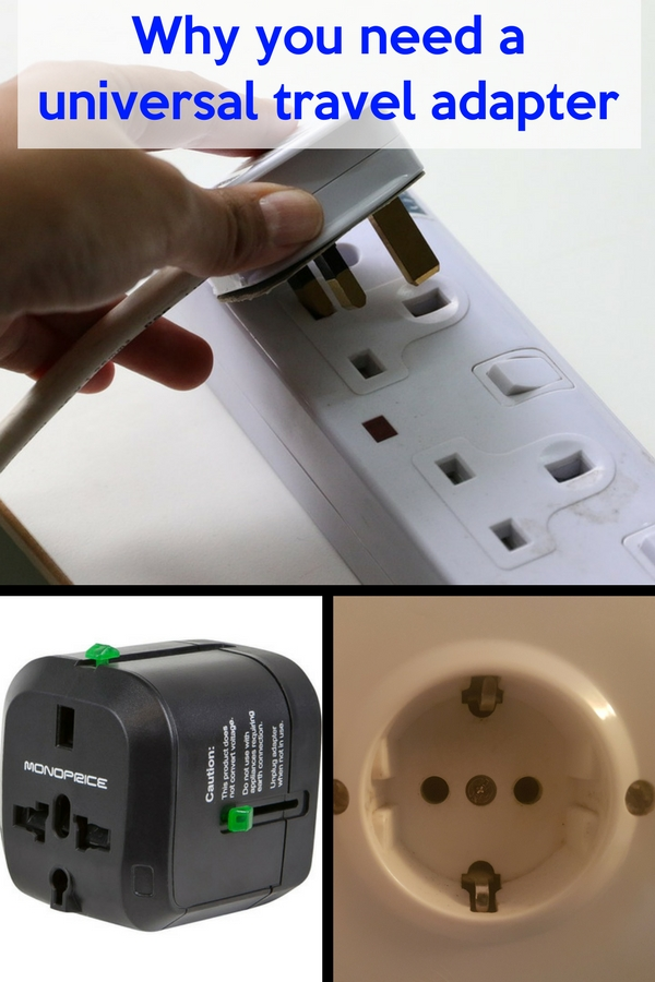 A universal travel adapter is essential travel gear. Other than the culture, food, people, weather and probably language there are other noticeable differences among countries that can make or break a trip. One of these is the type of electric plugs and sockets that different countries use. #travelhacks #roadtripessentials #traveltips #travelgear #travelpacking #travelshopping #traveleurope #traveltech #backpacking #roadtrip #gadget #international #internationaltravel