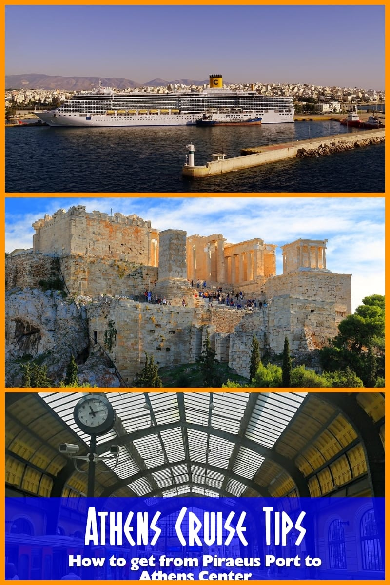How to get from Piraeus to Athens when arriving by cruise ship