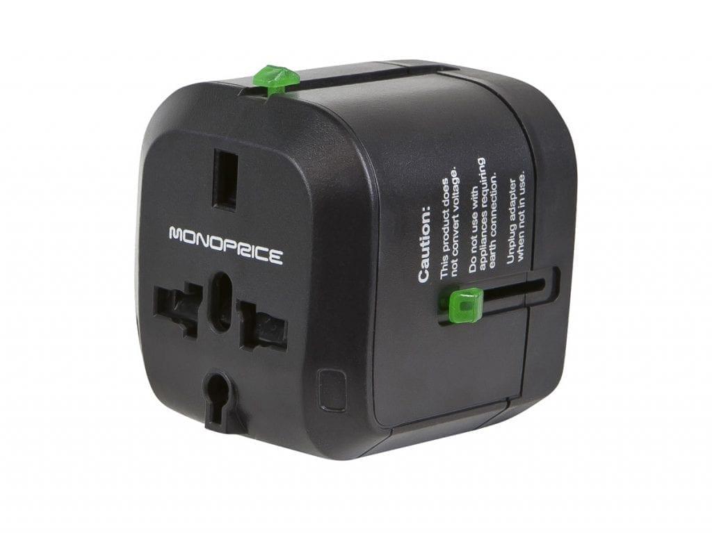 Monoprice universal travel adapter