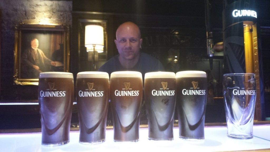 Enjoying the Guinness Experience in Dublin