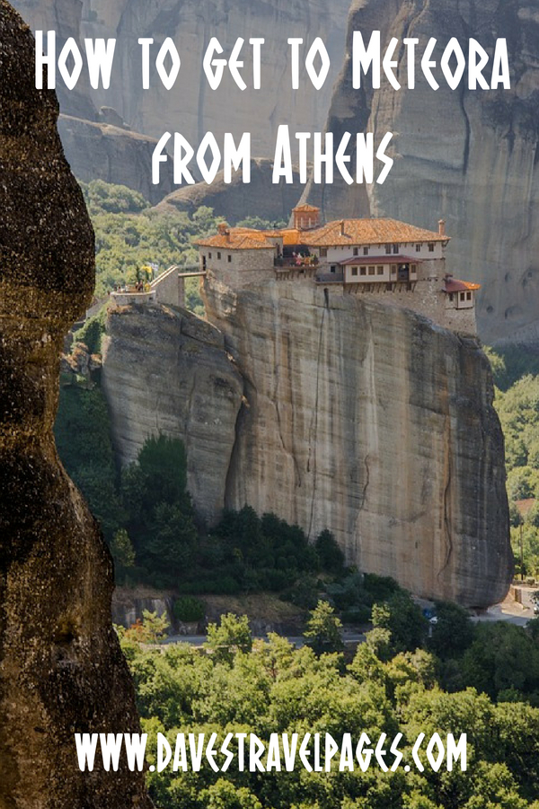 How to get to Meteora from Athens in Greece by train, car and bus.