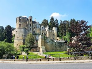 Beaufort Castle in Luxembourg - One of nearly 130 castle you can find in the Duchy of Luxembourg!